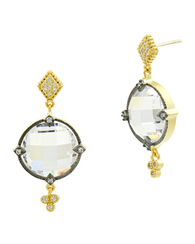 Color Theory Double-Drop Earrings