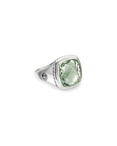 Albion Ring w/ Prasiolite  Size 5-9