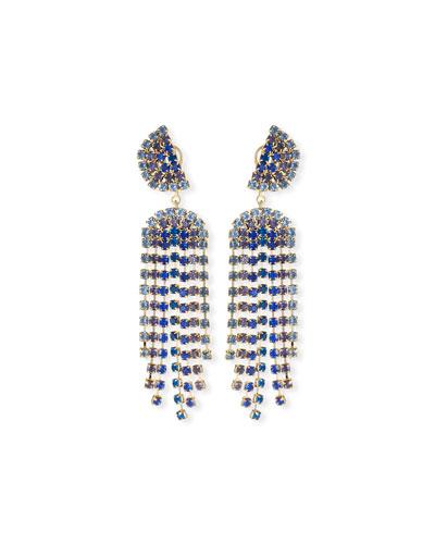 Synth Dangle Earrings