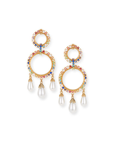 Lexy Rainbow Drop Earrings