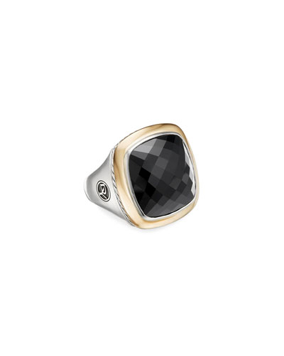 Albion 18mm Silver/Gold Statement Ring