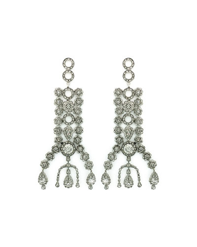 Dakota Crystal Drop Earrings