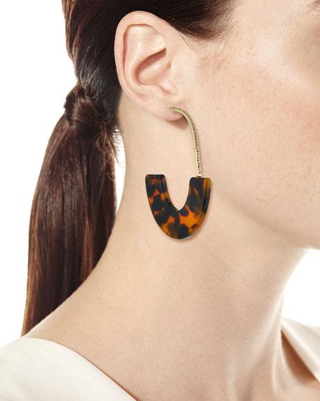 BaubleBar Faith Hoop Earrings