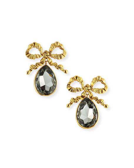 Jennifer Behr Kira Bow Drop Earrings