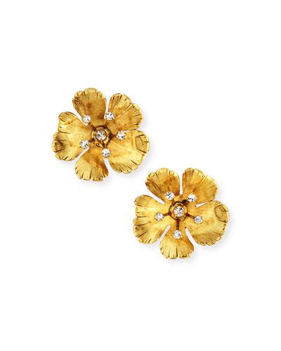 Haille Flower Stud Earrings