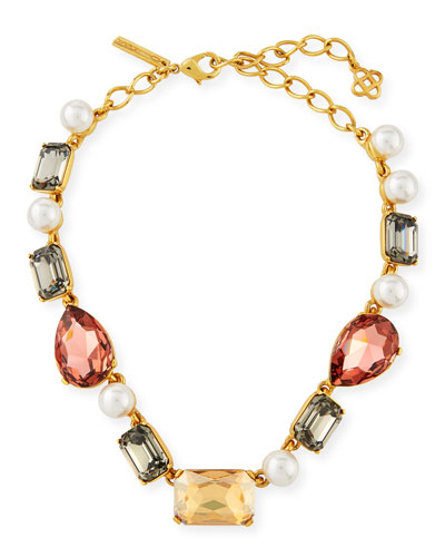 Bold Crystal Necklace