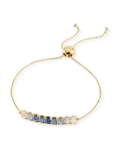 Tai Ombre Crystal Pull Tie Bracelet