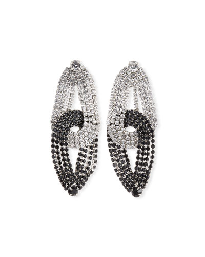 Quixotic Crystal Statement Earrings