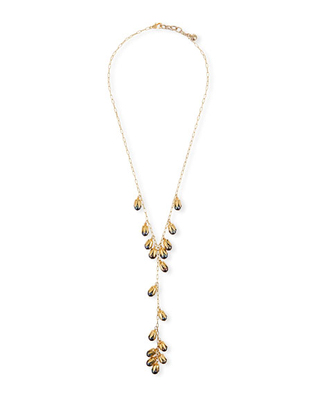 Lulu Frost CLAIRVOYANT PEARL Y-DROP NECKLACE