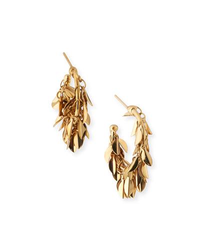 Stella Dangle Hoop Earrings