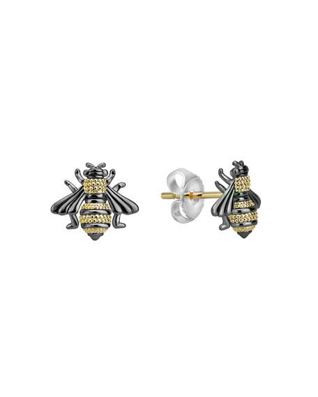Lagos Accessories RARE WONDERS 18K HONEYBEE STUD EARRINGS