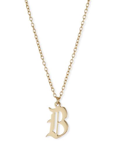 Emmanuelle Gothic Pendant Necklace