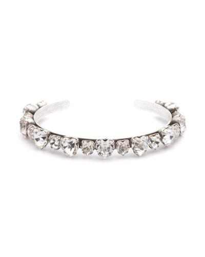 Rosie Crystal Cuff Bracelet