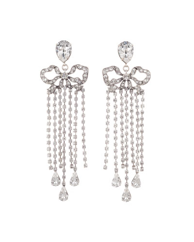 Chantel Crystal Dangle Earrings