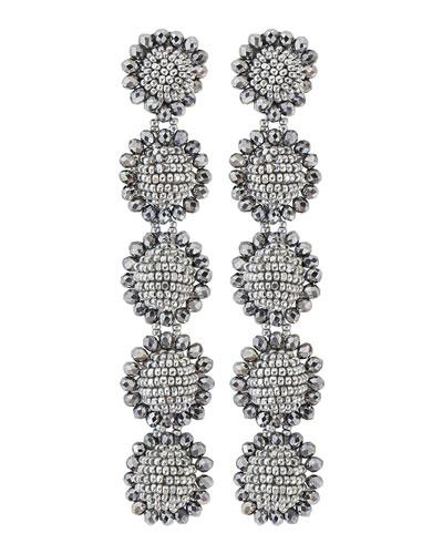 Regal 5-Drop Earrings