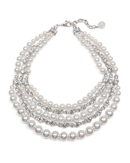 Ben-Amun Bubble Pearl Layer Necklace