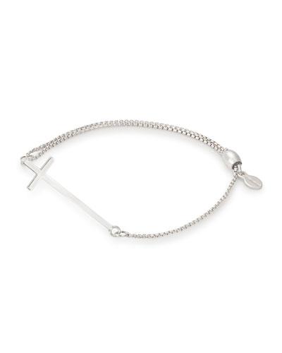 Cross Pull-Chain Bracelet