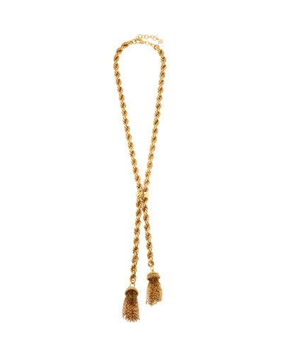 Tassel Rope-Chain Necklace