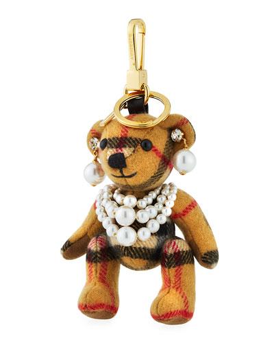 Thomas Pearly Teddy Bear Charm