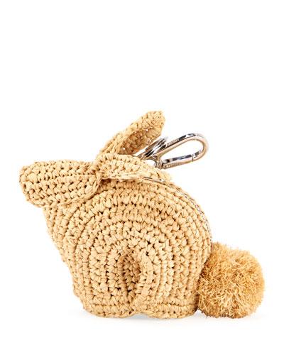 Bunny Straw Charm