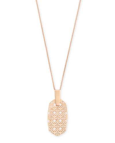 Inez Filigree Pendant Necklace