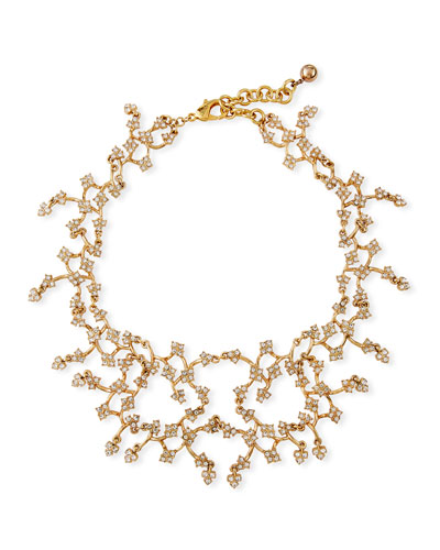 Jackie Crystal Necklace