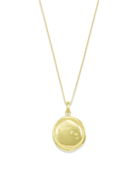 Kendra Scott Aries Coin Pendant Necklace