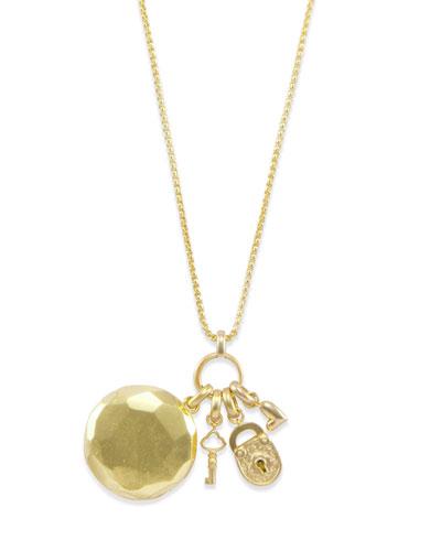 Key to my Heart Adjustable Necklace w/ Locket