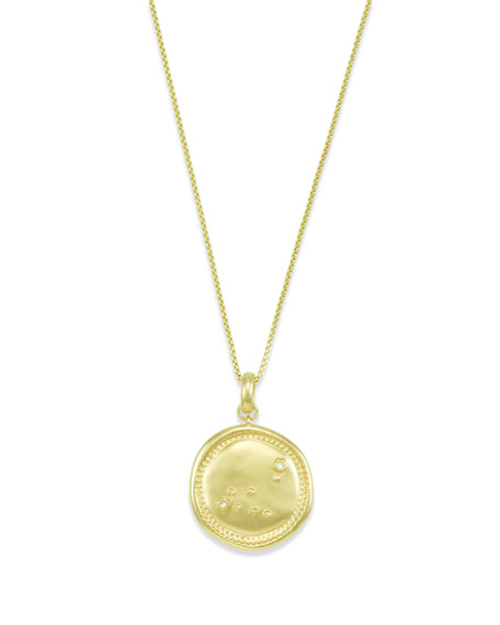 Kendra Scott Capricorn Coin Pendant Necklace