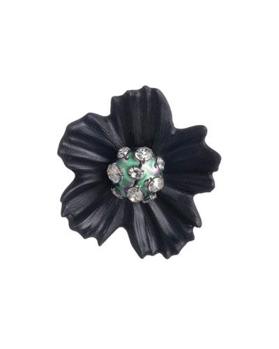 Liquid Flower Pin
