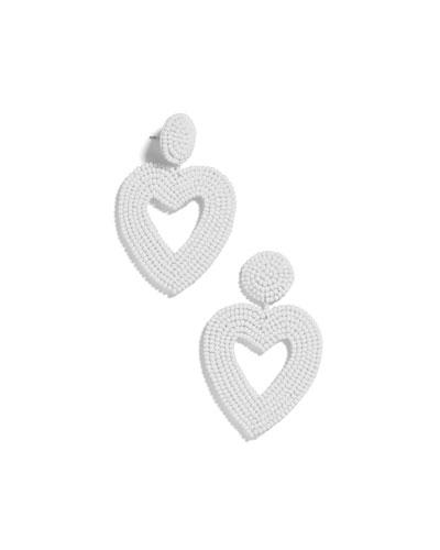 Vionnet Heart Drop Earrings