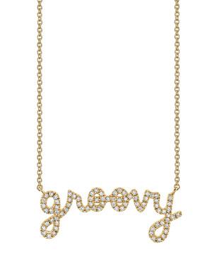 4983d6108 Sydney Evan 14k Diamond Groovy Pendant Necklace