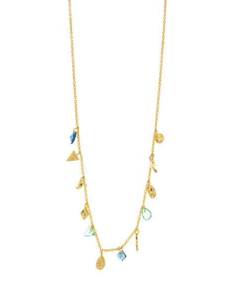 Gorjana Accessories LUCA SHIMMER SHORT NECKLACE
