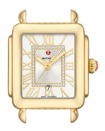 Deco Madison Mid Watch Head  Gold