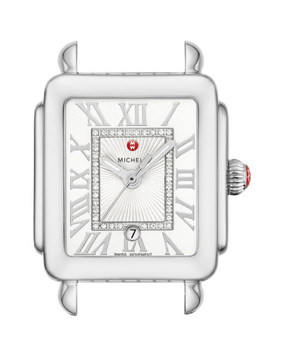 Deco Madison Mid Watch Head  Steel