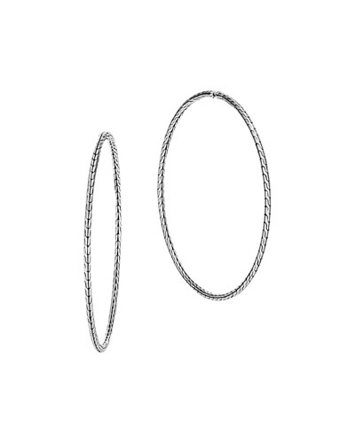 Classic Chain Extra-Large Hoop Earrings