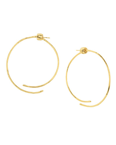 Taner Coil Hoop Earrings