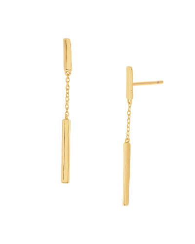Taner Bar Chain Earrings