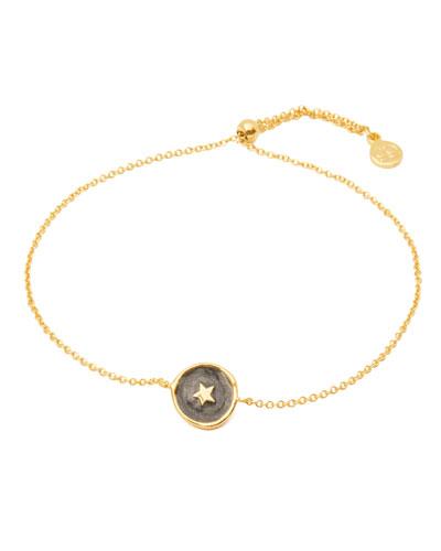 Enamel Star Coin Bracelet