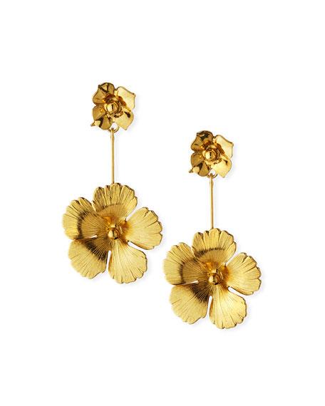 Jennifer Behr Accessories Kalina Flower Drop Earrings