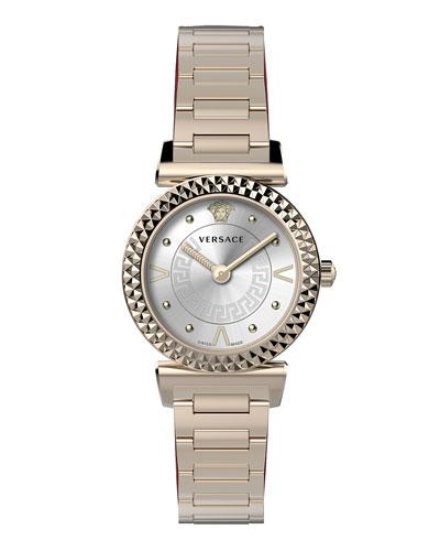Mini Vanity Watch w/ Bracelet  Rose Gold