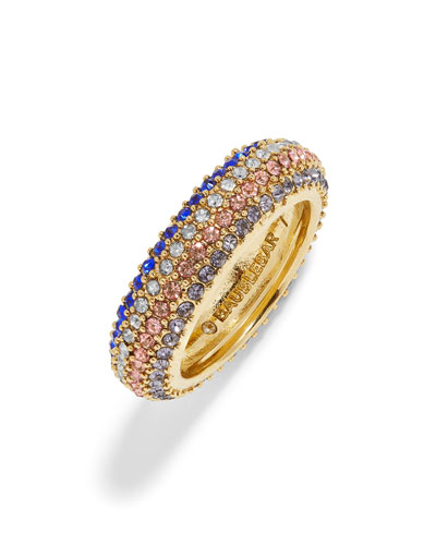 Lucina Pave Band Ring