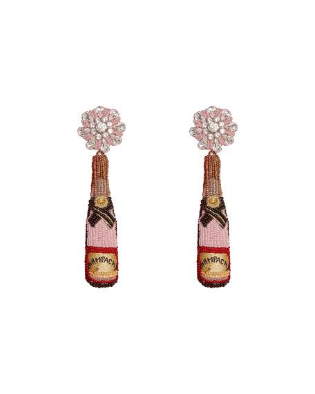 Mignonne Gavigan Accessories ROSE BOTTLE EARRINGS