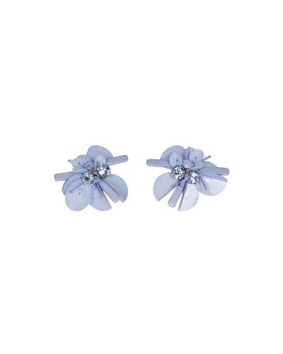 Haley Flower Stud Earrings