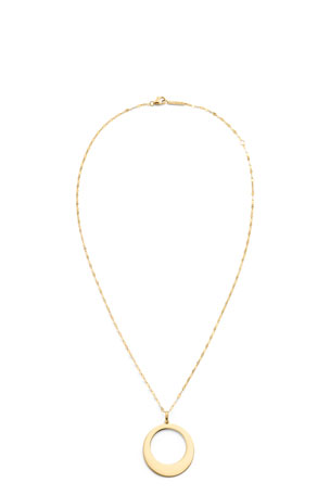 Lana 14k Large Bond-Link Pendant Necklace