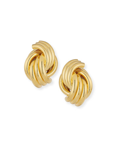 Knot Clip-On Earrings