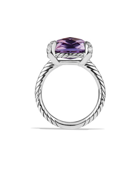 Image 5 of 5: David Yurman 14mm Chatelaine Ring