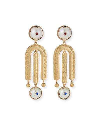 Boboli Clip-On Drop Earrings