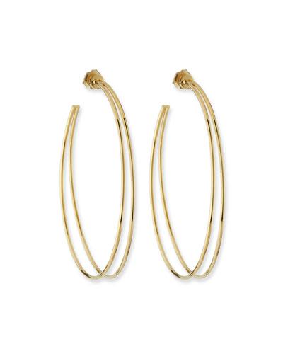 Simone Split Hoop Earrings