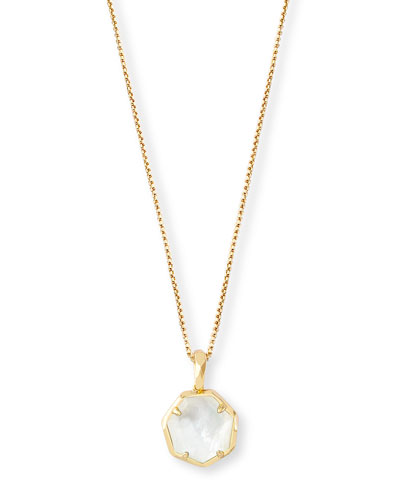 Canon Mother-of-Pearl Pendant Necklace